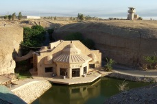 One of the many palaces and villas built by the Baath Party in Tikrit, Iraq.