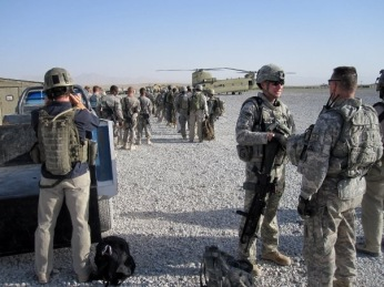 Getting ready to fly out. I was involved in a deadly helicopter crash in 2006, after that, whenever I flew, I was always one of the last to board and first to get off. Zabul Province, Afghanistan, Summer 2009.