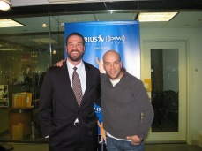 With my good friend Pete Dominick. Pete I hope you know how much your friendship means to me.