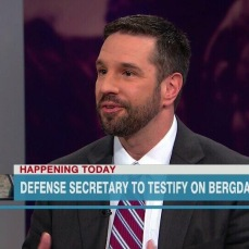 Speaking in defense of Bowe Bergdahl's family on CNN, 2014.