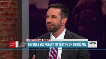 Speaking in defense of Bowe Bergdahl's family on CNN, 2014.