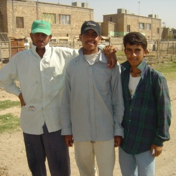 Young Iraqi men. How long did those smiles last after 2004?