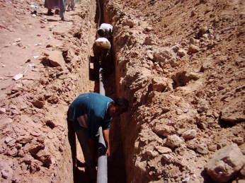 Building a better Iraq. Nothing like tempting people with the possibility of clean water for their children but then delivering a civil war onto them.