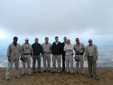 With one of my PSD teams above Sulimania, Kurdistan, Iraq.