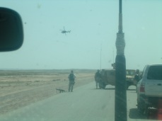 A medevac following a successful IED attack against American forces in between Tikrit and Kirkuk, 2005.
