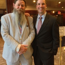 With my friend, hero and inspiration, Shea Brown at the 2013 Ridenhour Awards.