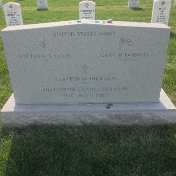 My good friend's brother's grave in Arlington.