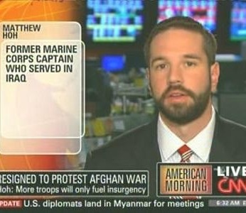 An early appearance on CNN in November 2009. Prior to this my last appearance in the American press was in the Hunterdon County Democrat in 1991 for high school track.