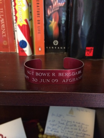 The joy I felt when I took off this bracelet upon Bowe's release was nothing compared to the revulsion at the base and petty politically motivated hatred of Americans towards Bowe and his family.