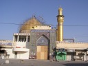 The Golden Dome Mosque in Samarra. Revered in Shia society, al Qaeda would destroy its beautiful dome in February 2006. The civil war between Iraqis had begun well before al-Qaeda's attack, so much that we began recording and reporting to Baghdad Iraqi civilian deaths in early 2005. That we didn't do so for nearly two years into our war there tells a lot about us.  In October 2004, Iraqi and American special operations troops stormed the mosque to root out insurgents. In doing so they destroyed the front door. We, the US, paid $100,000 to purchase a replacement. War is racket folks...