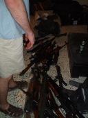 Just some guns my friends had in Baghdad...2004.