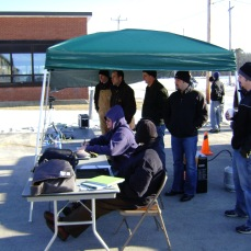 Testing suicide bomber detection devices on a very cold day in Massachusetts in January 2009. They didn't work. That didn't stop the vendors from complaining to Congress though.