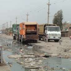 Sadr City in the spring of 2004. Well over a year after our occupation had begun this was the reality of the streets of Baghdad. A reality very distant from the conversations at the Embassy and in Washington.